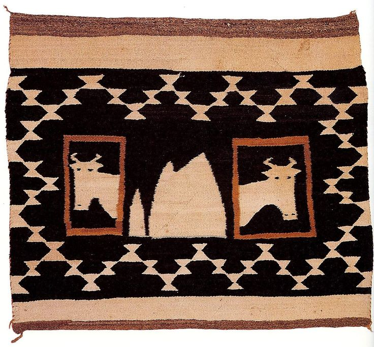Native American Rugs Navajo Americans Cow Blankets Indians Comforters