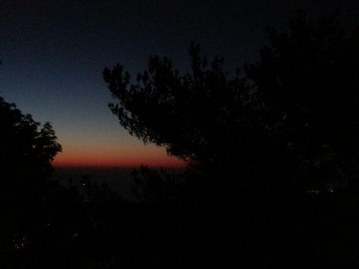 Sunrise 26-07-2013, 05:42, Vasiliko mount, Kreta