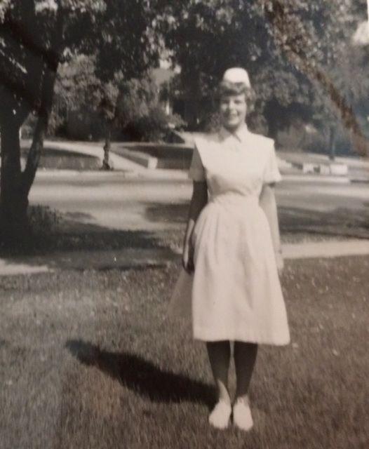 Pasadena City College RN Program, student nurse, 1965