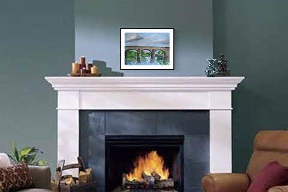 Green's Bridge Kilkenny Watercolour by PaintingsbyPhilomena