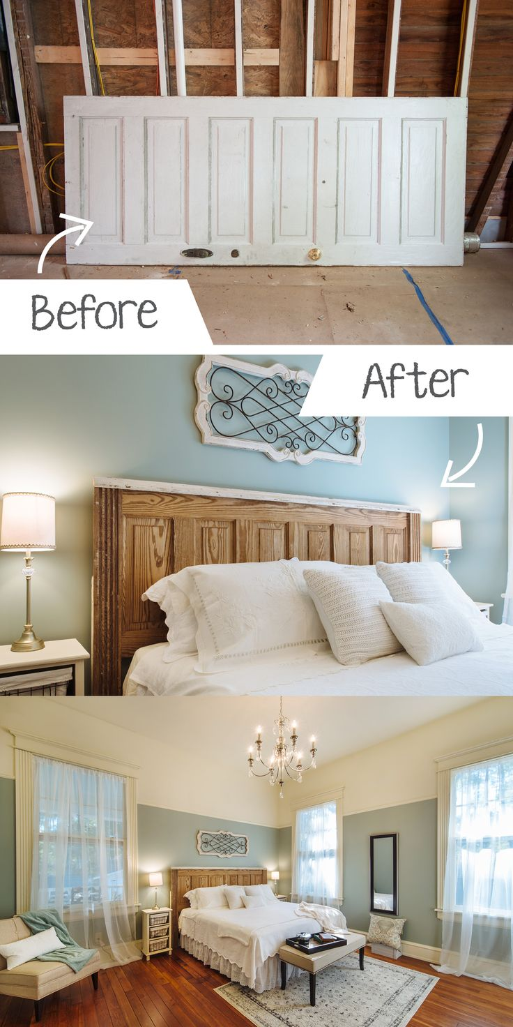 Diy Ideas For The Home Turning An Old Door Into A