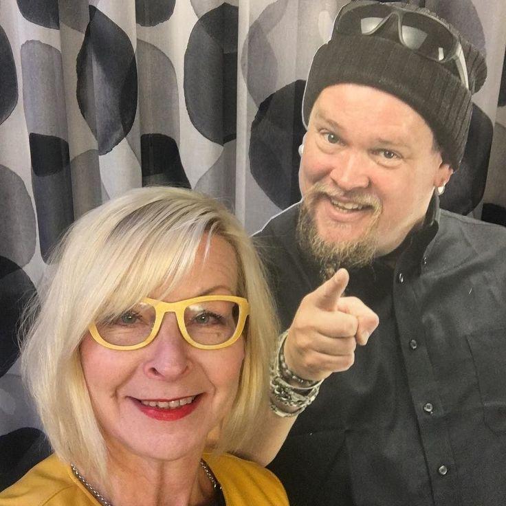 Tapasin Villen! #100suomalaista #suomi100 #finland #finland100 #henkilöbrändäys #digitalist #vaikuttajamarkkinointi #somekouluttaja #ilovemyjob #somefi #futuremarja #johtajatsomeen