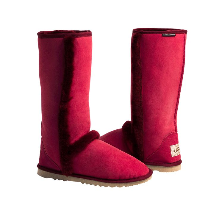 Arctic Tall Ruby Boots, Australian Made Sheepskin, #aussie #australianmade #sheepskin #boots #tallboots #shoedreams #comfy #cute #warm #indoors #home #outdoors #shoesaholic #ruby #red #rubyboots #redboots #styling #fashion #outfit #fashioninspiration