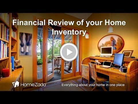 #Personal Finance Review of Your #HomeZada #Home Inventory