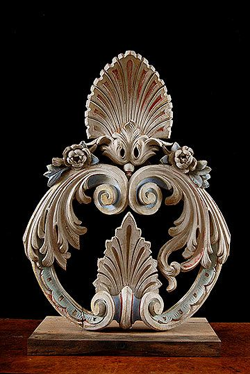 Italian Antique Mounted Architectural Elements