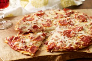 Meat-Lovers Pizzeria Pizza - check out more pizza recipes at pizzacentre.ca!