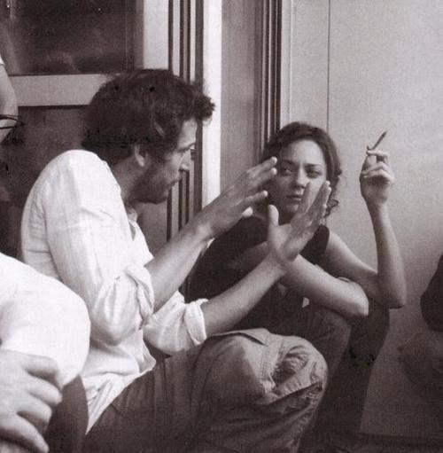 Les petits mouchoirs. Guillaume Canet & Marion Cotillard