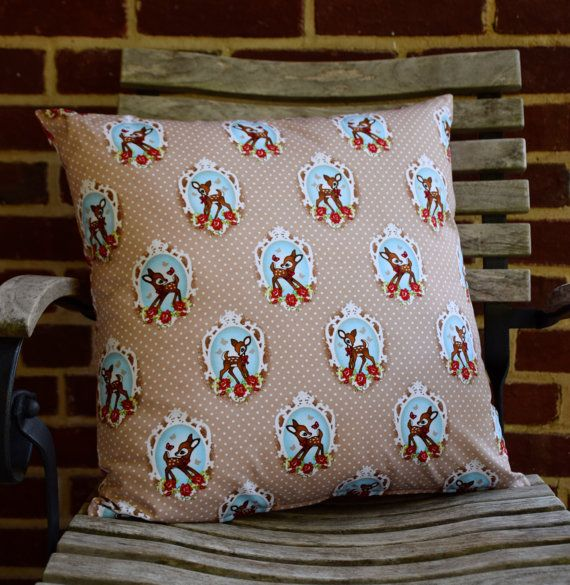 Childrens Throw Pillow Cover with retro by ApplesauceAndKetchup