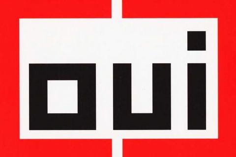OUI / Stedelijk museum / Pierre di Sciullo : conclusion  / étapes: design & culture visuelle