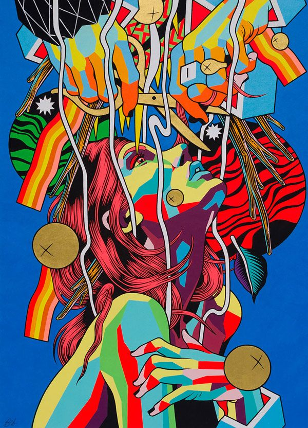 Tomorrow night JustKids presents the Brazilian artist duo known as Bicicleta Sem Freio'sfirst-ever show in London. See more of the worksbelow.