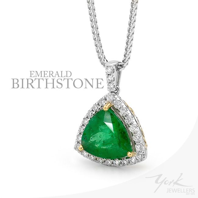 Beautiful Emerald for the month of May by York Jewellers