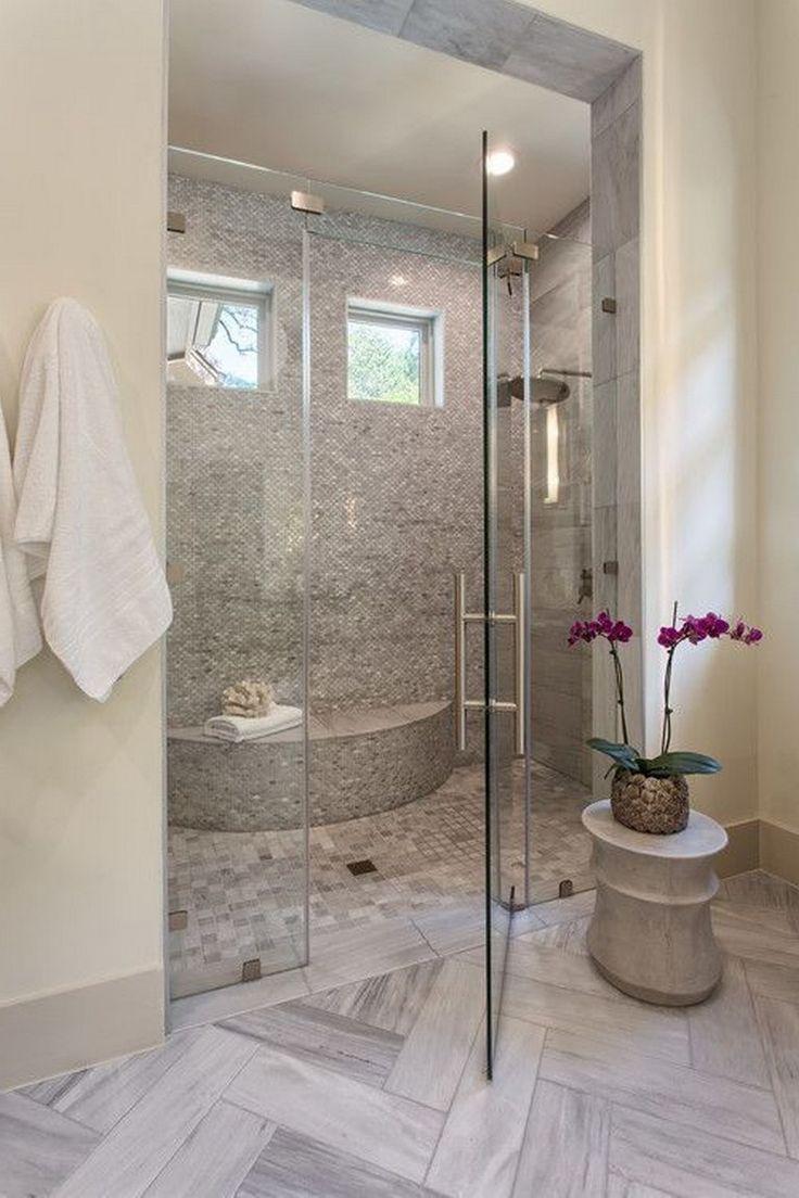 Legende  39 Elegant Farmhouse Master Bathroom Remodel Ideas #BauernhausBadezimmer #Badezimmerr