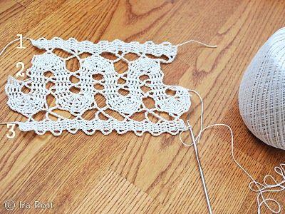 tuto crochet skirt