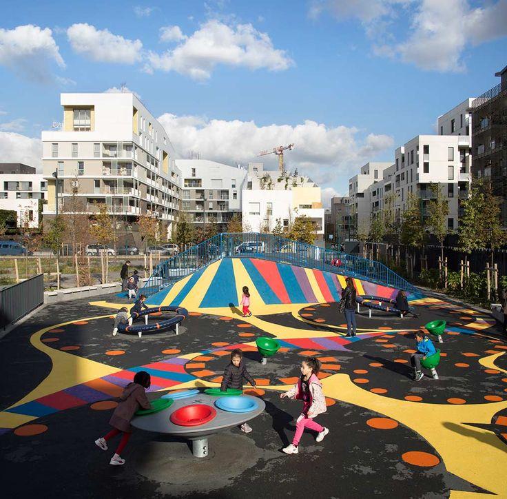 Residential-Park-Playground-Ateliers-234-paris-17 « Landscape Architecture Works | Landezine