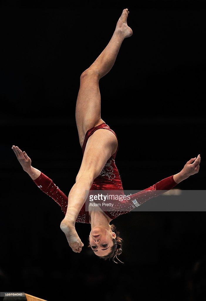 Mc Kayla Maroney of the USA competes on the Beam aparatus in the Women's qualification during day two of the Artistic Gymnastics World Championships Tokyo 2011 at Tokyo Metropolitan Gymnasium on October 8, 2011 in Tokyo, Japan.