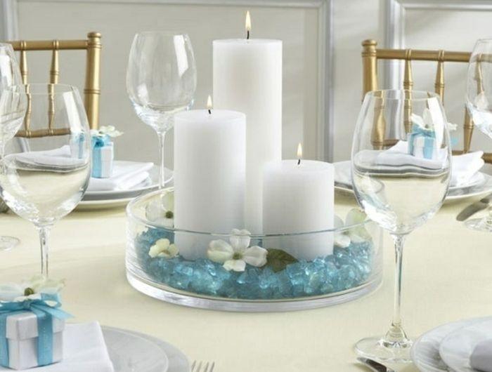 bougeoir-en-verre-décoration-de-table-romantique