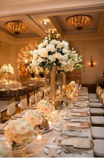 Something Pretty Floral - Dallas Florists - Elegant and classic white floral centerpieces