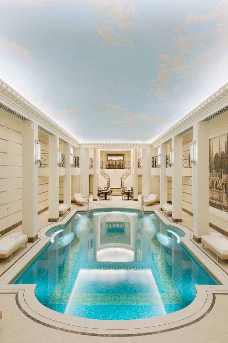 Elegant and gracious design in each space of ritz paris a truly spectacular hotel
