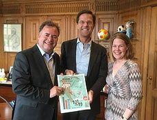 Mark Rutte ontvangt gouden ticket Festival Classique - Nieuws