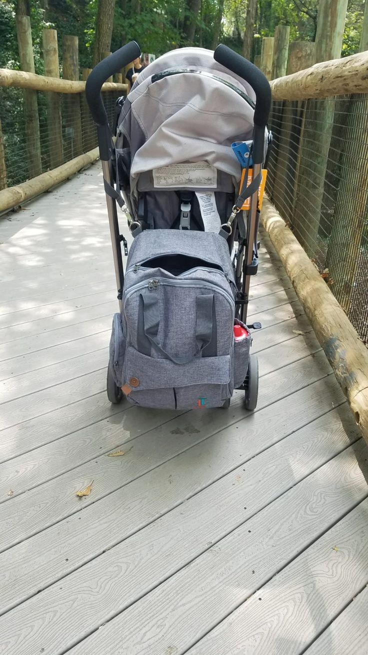 first trip to the zoo and using our laguna tide diaper bag