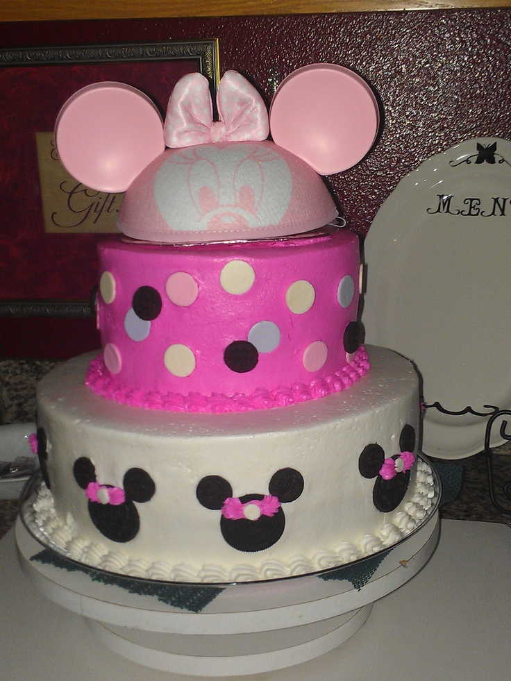 Minnie Mouse Baby Shower Cake Images : 56 best Minnie Baby Shower images on Pinterest Minnie ...