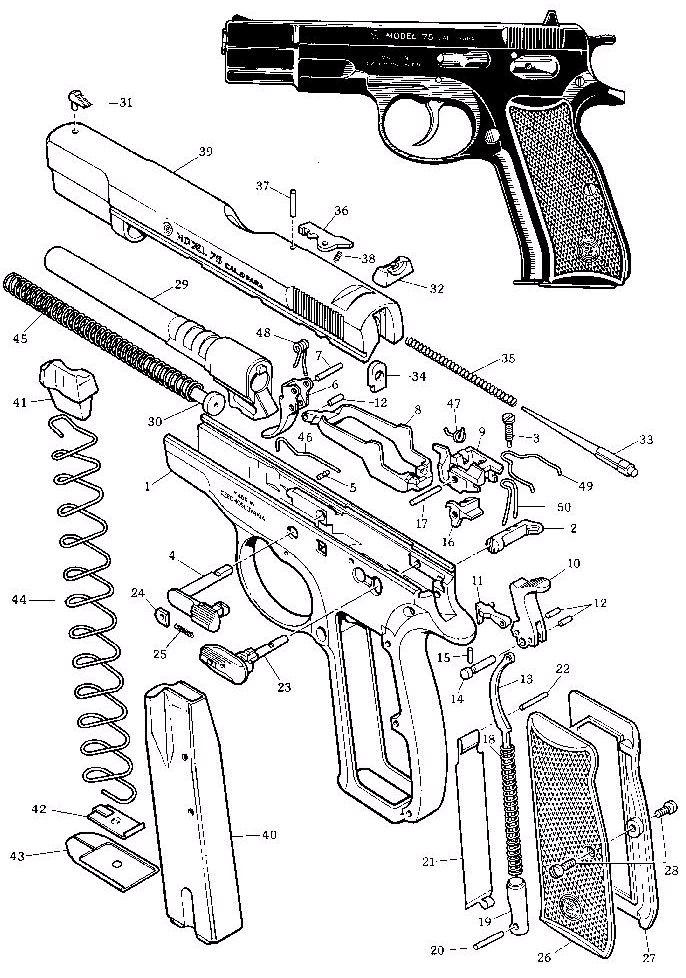 pin by enrique mor u00f3n on weapons  firearms diagrams