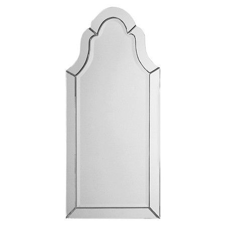 Uttermost Hovan Frameless Arched Mirror Target