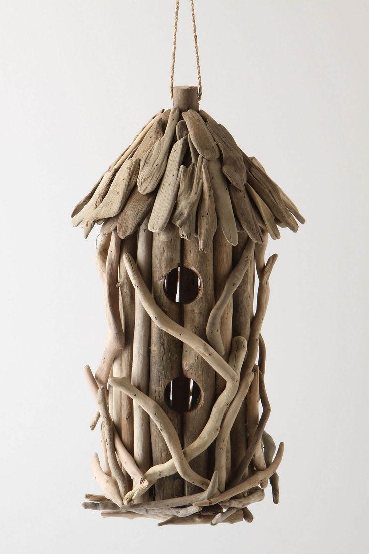 tree house bird house: Idea, Driftwood Projects, Birds Feeders, Driftwood Birds, Driftwood Art, Birds Houses, Driftwood Birdhouses, Drift Wood, Crafts