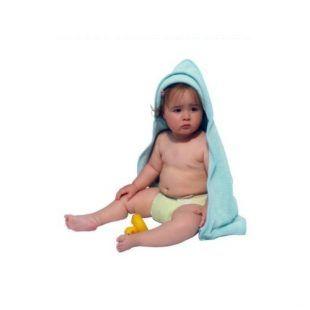 Ręcznik dwustronny z kapturem Close Parent 80x80 cm Toddlersi