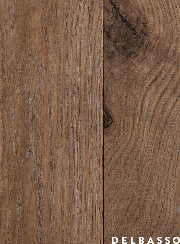 Parquet di quercia francese, verniciato all'acqua, colore fango. French Oak Floor, painted with water paints, colour: fango. #parquet by @delbassoparquet