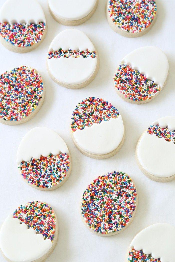 kekse selber backen ideen osterkekse zubereiten