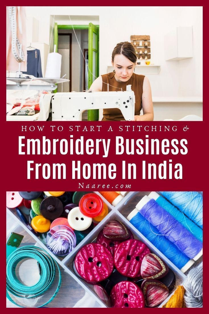 How To Start A Stitching And Embroidery Business From Home In India Commercial Embroidery Machine Best Embroidery Machine Commercial Embroidery