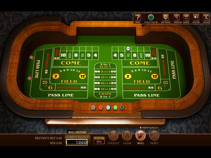 online casino table games online dice