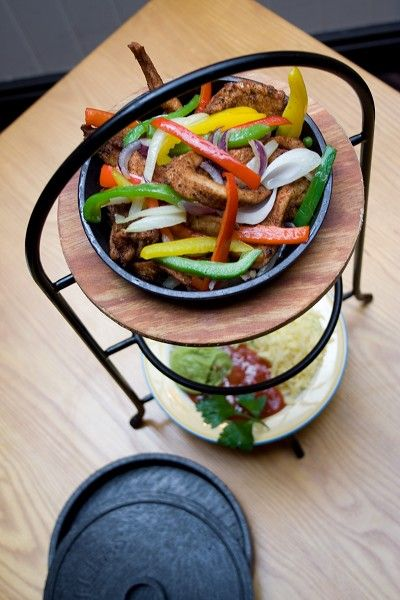 Cajun Chicken Fajitas
