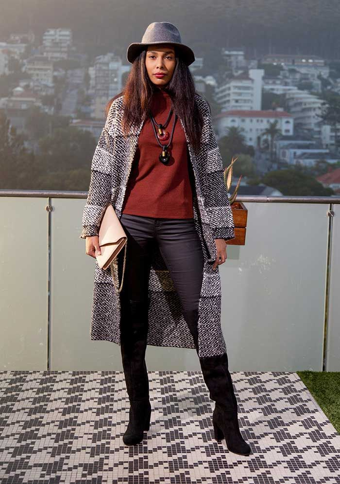 Expresso Fashion Director Alexis Chaffe Mey shows us a few ways to keep the chill at bay with bohemian winter layering!