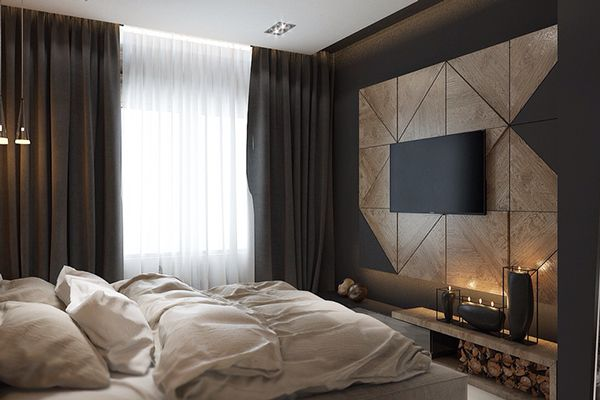 Bed room on Behance
