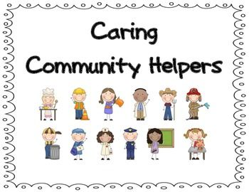 Use this bundle to supplement your unit on communities!   Community Helpers included are: -Chef -Construction Worker -Crossing Guard -Doctor -Farmer -Firefighter - Garbage man & Sanitation Worker -Mailman & Postal Carrier -Nurse -Policeman, Police Officer, & Cop -Teacher -Vet  Activities Include: -Community Helper Word Wall Word with Picture -Community Helper Poster for each occupation - Community Helper Poster with Job Description for each occupation -Graphic Organizer for each ...