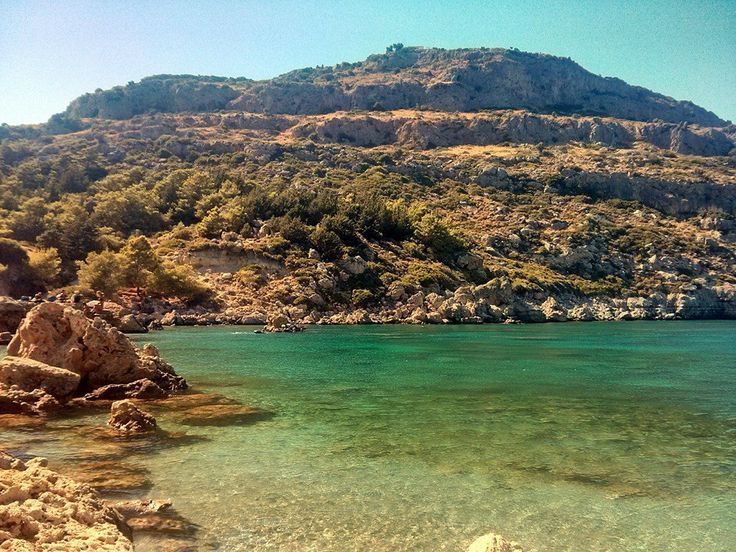 Anthony Quinn Bay just 18min by car from Sivila All-Inclusive Hotel!!!  #Rhodes #Rodos #Greece #summer #holidays