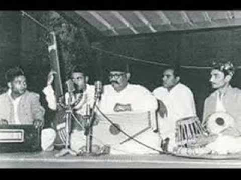 Ustad Bade Ghulam Ali Khan - Raga Hamir and Thumri # 2