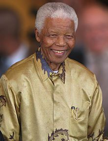 Feb 11, 1990; South African activist, Nelson Mandela was freed after 27 years in captivity. Picture:Nelson Mandela on the eve of his 90th birthday in Johannesburg in May 2008
