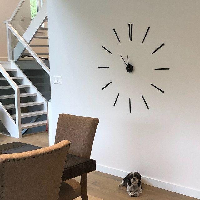 Moderne Grosse Wanduhr 70 100 Cm Elegance Version Xl In 2020 Decor Home Decor Decals Elegant
