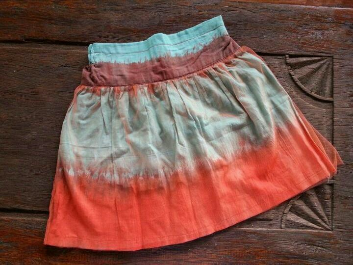 tie dye collection for your little girl - orange