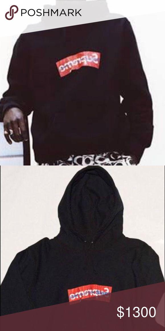 Comme des Garçons supreme BOGO black hoodie New drop bogo!! Jackets & Coats