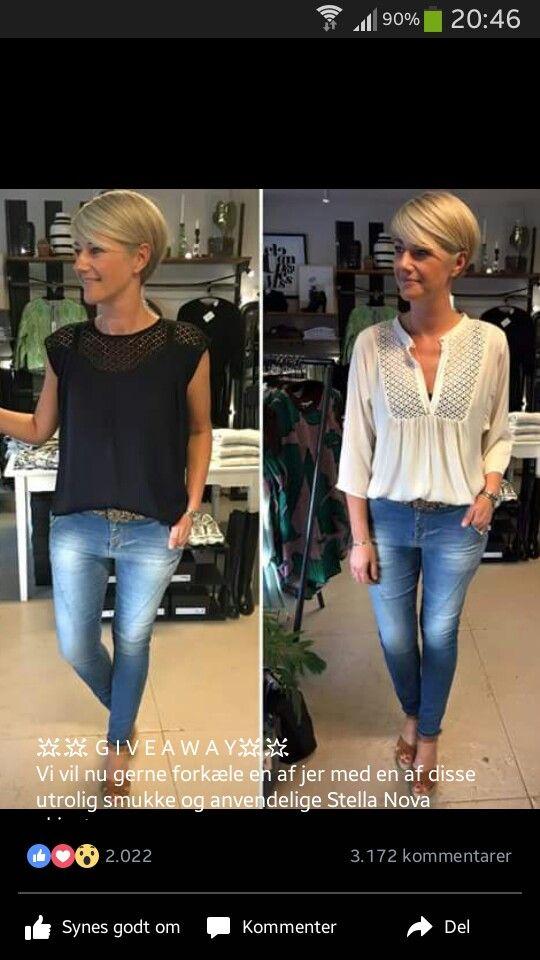 Lieben Sie beide Hemden, die Jeans sind auch nett!