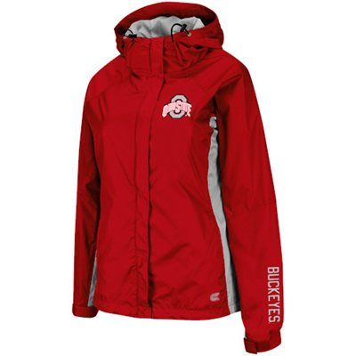 Ohio State Buckeyes Ladies Typhoon Storm Jacket – Scarlet