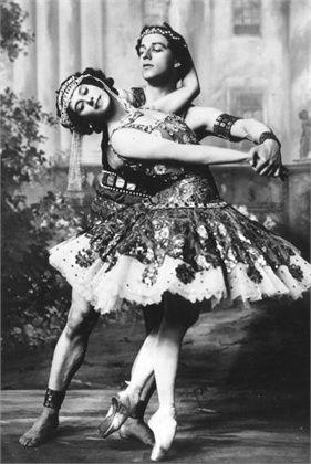 Anna Pavlova and Mikhail Mordkin: The Ballets Russes, 1900 (vogue.it)