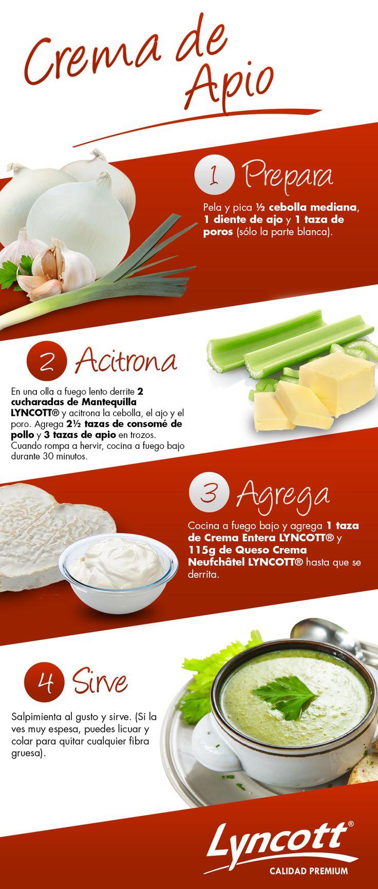 Crema de Apio #RecetaFácil #Crema #Saludable #Lyncott