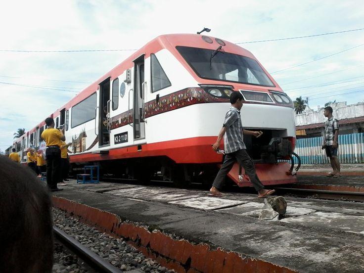 Kereta Perintis Lubuk Alung-Kayutanam Resmi Beroperasi 1 November 2016