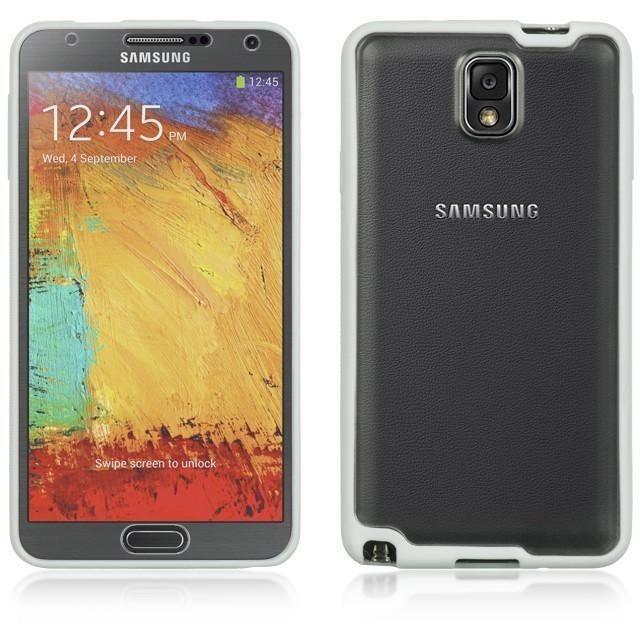 DW Premium Lucent Hybrid Case for Samsung Galaxy Note 3 - White