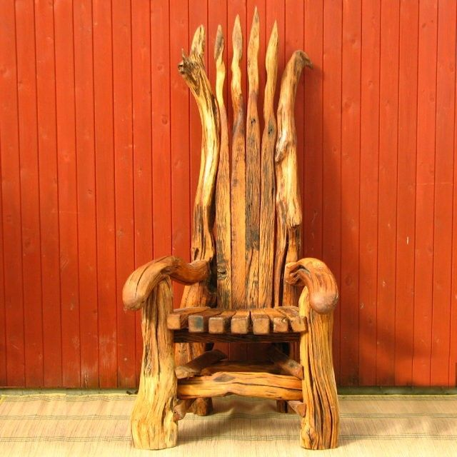 Giant storytelling chair